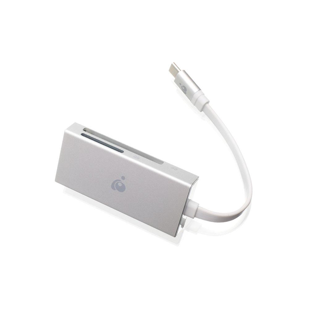 Iogear 59 In 1 Usb 3 0 Memory Card Reader Writer: IOGEAR 3 In 1 USB-C Quantum Card Reader/Writer